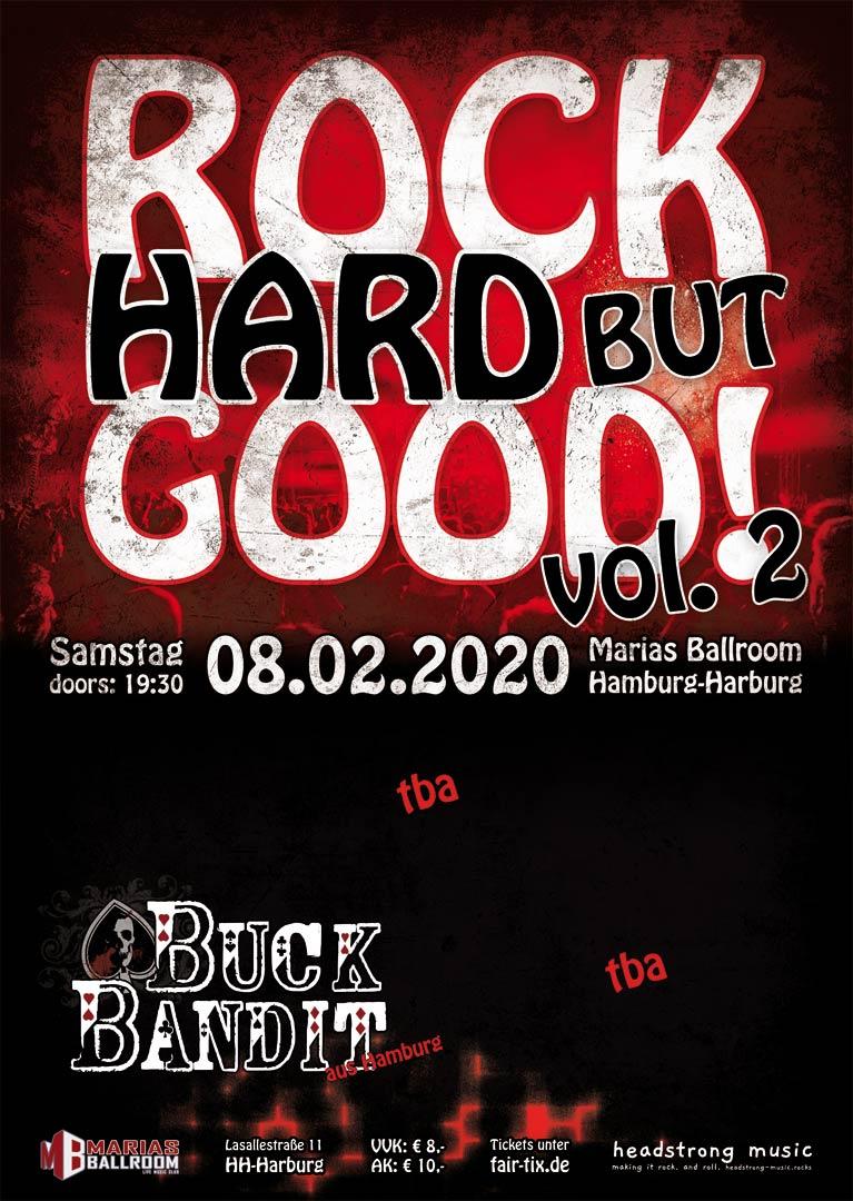 Bands wanted! Rock Hard but Good vol. 2